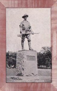 Minnesota Minneapolis Soldiers Monument University Of Minnesota 1909