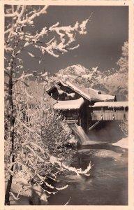 Winter Scene Austria Unused