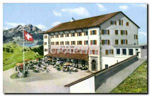 Postcard Old Hotel Rigi Rulm Switzerland