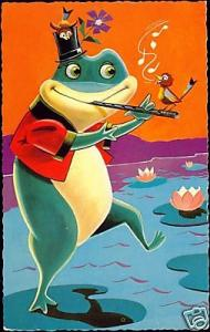 Funny Frog blows the Flute, Bird Sings (ca. 1950)