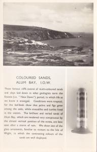 RP, Coloured Sands, Alum Bay, Isle Of Wight, England, UK, 1920-1940s