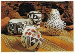 US Acoma Pottery. Card 5X7