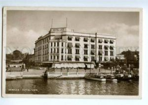171970 ITALY VENEZIA Hotel Lido Vintage photo postcard