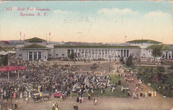 New York Syracuse State Fair Grounds 1911