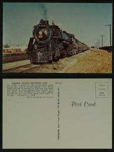 Grand Trunk Western 6326  (Indiana USA) publ 1960s/70s)