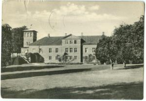Denmark, Frijsendal, Hammel, 1958 used Postcard