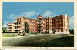 Canada - Quebec, Sherbrooke. St Vincent de Paul General Hospital