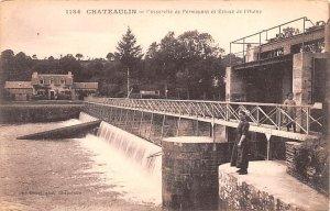 Passerelle de Permapont et Ecluse de l'Auine Chateaulin France Unused