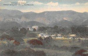 Jamaica, Jamaique Post card Old Vintage Antique Postcard Constant Spring Hote...