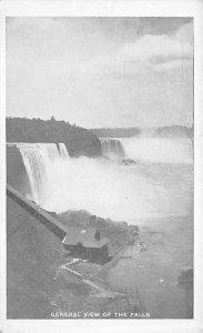 General view of the falls Niagara Falls Unused