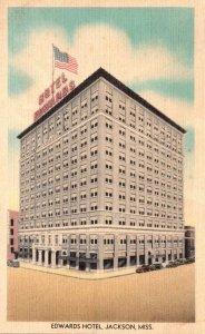 Mississippi Jackson Edwards Hotel