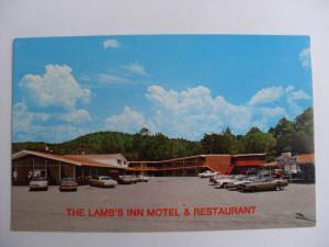 1970's Lamb's Inn Motel & Restaurant Lake City Tn Unused Postcard y7461