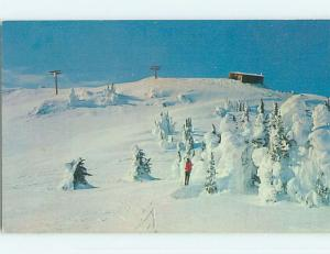 Unused Pre-1980 Skiing - TOD MOUNTAIN SKI RESORT Kamloops BC p8581