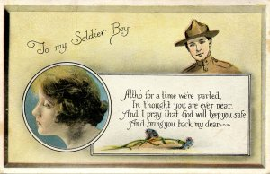 Military, WWI - To My Soldier Boy (From the girl back home)
