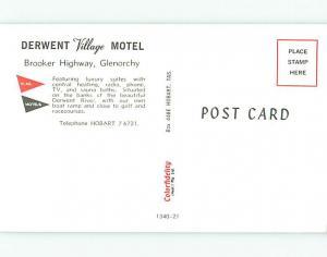Unused Pre-1980 DERWENT VILLAGE MOTEL IN GLENORCHY Queenstown NEW ZEALAND u6463