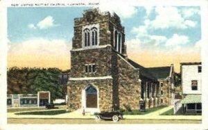 New United Baptist Church in Lewiston, Maine