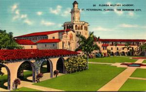 Florida St Petersburg Florida Military Academy 1940