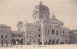 Bundeshaus, Bern, Switzerland, 1900-1910s