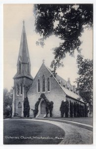 Winchendon, Mass, Unitarian Church - Rotograph