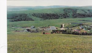 Scenic view,  Headquarters for the Deer Springs Ranch,  Calgary,  Alberta,  C...