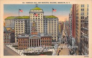 Borough Hall & Municipal Building Brooklyn NY 1949