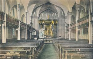 Interior of St Lukes Church - Rochester, New York - DB