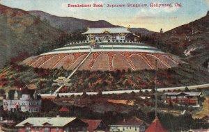 Bernheimer Bros.' Japanese Bungalow, Hollywood, CA 1919 Vintage Postcard