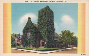 Saint John's Episcopal Church Roanoke Virginia 1939