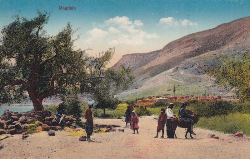 MAGDALA, Israel, 1900-1910s; General View