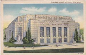Oklahoma Oklahoma City Civic Auditorium 1941 Curteich