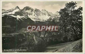 Postcard Modern Brunig (1004m) mit Faulhornkelle