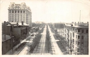 br105051 broadway winnipeg canada real photo