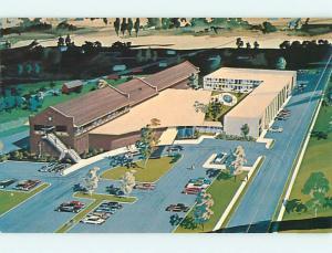 Pre-1980 YOGO INN MOTEL Lewistown Montana MT s2950