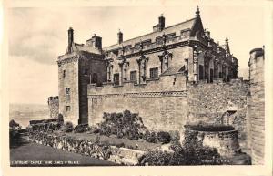 uk12647 stirling castle king james palace scotland real photo uk