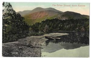 Scotland Loch Katrine Trossachs Silver Strand Vntg Postcard
