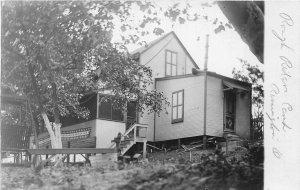 F41/ Remington Loveland Ohio RPPC Postcard Rough Rider Camp Cottage