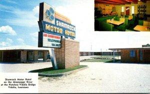 Louisiana Vidalia Shamrock Motor Hotel & Coffee Shop and Lounge