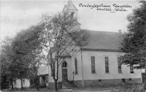F11/ Jewett Ohio Postcard Harrison County 1910 Presbyterian Church