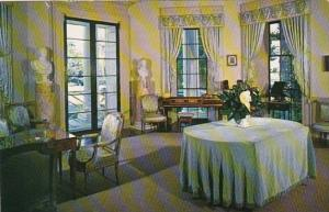 Virginia Charlottesvile The Drawing Room Monticello Home Of Thomas Jefferson ...