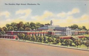 Virginia Winchester The Handley High School