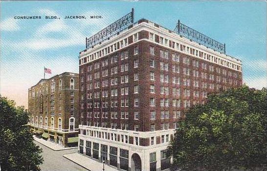 Michigan Jackson Consumers Building