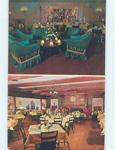 Pre-1980 RESTAURANT SCENE Hyde Park - Near Poughkeepsie New York NY B9840