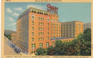 MINERAL WELLS , Texas , 1930-40s ; Crazy Water Hotel