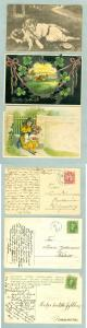 Sweden. 3 Congratulation Cards.Postal Used.1908-11-20. See Description