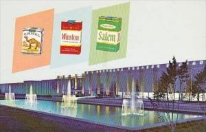 North Carolina Winston Salem R J Reynolds Tobacco Company Whitaker Park