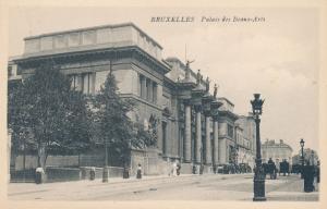 Bruxelles - Brussels Belgium - Center for Fine Arts - Palais des Beaux-Arts - DB