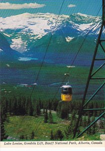Canada Lake Louise Gondola Lift Banff National Park Alberta