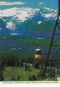 Canada Lake Louise Gondola Lift Banff National Park Alberta