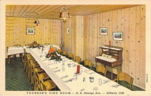 Younker's Pine Room - 51 Chicago Ave., Chicago, Posted 1940