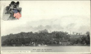West Point NY From the North c1900 Arthur Livingston Postcard